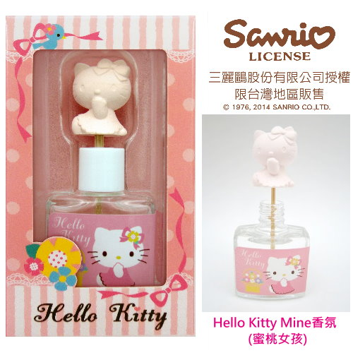 <table><tr><td><font color=blue>Hello kitty mini香氛(蜜桃女孩)</font></td></tr></table>