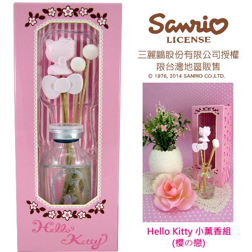 <table><tr><td><font color=blue>Hello kitty 小薰香(櫻の戀)</font></td></tr></table>
